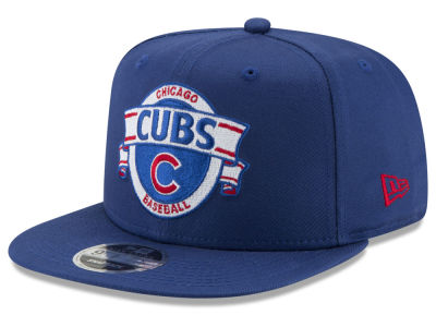 Chicago Cubs New Era MLB Banner 9FIFTY Snapback Cap