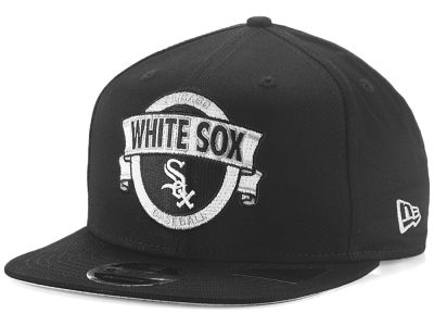 Chicago White Sox New Era MLB Banner 9FIFTY Snapback Cap