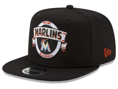 Miami Marlins New Era MLB Banner 9FIFTY Snapback Cap