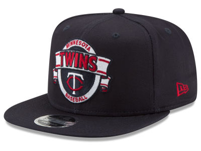 Minnesota Twins New Era MLB Banner 9FIFTY Snapback Cap