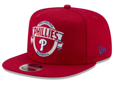Philadelphia Phillies New Era MLB Banner 9FIFTY Snapback Cap