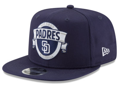 San Diego Padres New Era MLB Banner 9FIFTY Snapback Cap