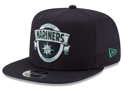 Seattle Mariners New Era MLB Banner 9FIFTY Snapback Cap