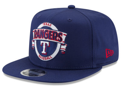 Texas Rangers New Era MLB Banner 9FIFTY Snapback Cap