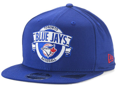 Toronto Blue Jays New Era MLB Banner 9FIFTY Snapback Cap
