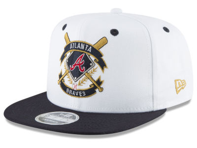 Atlanta Braves New Era MLB Crest 9FIFTY Snapback Cap