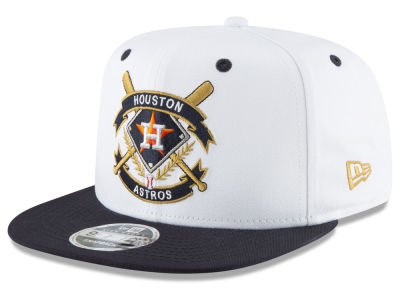 Houston Astros New Era MLB Crest 9FIFTY Snapback Cap