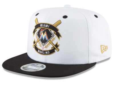 promo code 22ca7 7caab ... netherlands miami marlins new era mlb crest 9fifty snapback cap 193cb  e1976