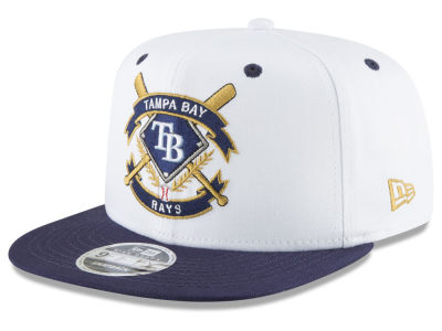 Tampa Bay Rays New Era MLB Crest 9FIFTY Snapback Cap