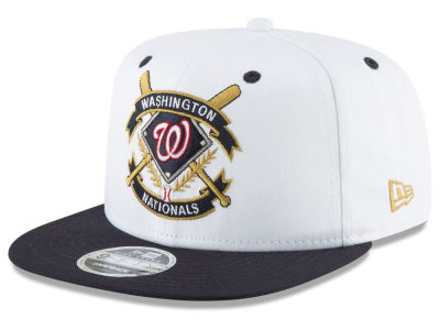 Washington Nationals New Era MLB Crest 9FIFTY Snapback Cap