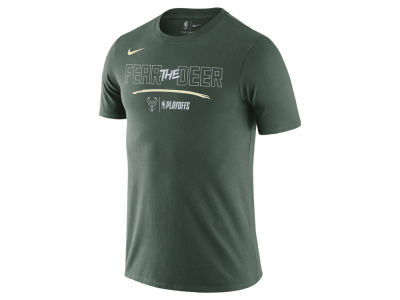 Milwaukee Bucks Nike NBA Men's Playoff Mantra Legend T-Shirt
