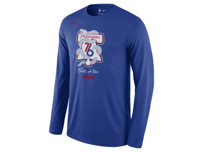 Philadelphia 76ers NBA Men's Playoff Mantra Legend Long Sleeve T-Shirt