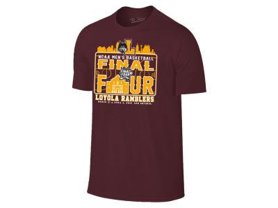 Loyola Ramblers 2018 NCAA Men's Final Four Bound T-Shirt