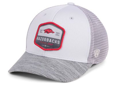 huge discount aeab9 b198f ... greece arkansas razorbacks top of the world ncaa hyjak mesh flex cap  d0afb faee8
