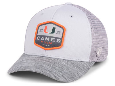 cheap for discount 4ae24 2838f ... order miami hurricanes top of the world ncaa hyjak mesh flex cap 96910  52933