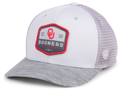 Oklahoma Sooners Top of the World NCAA Hyjak Mesh Flex Cap