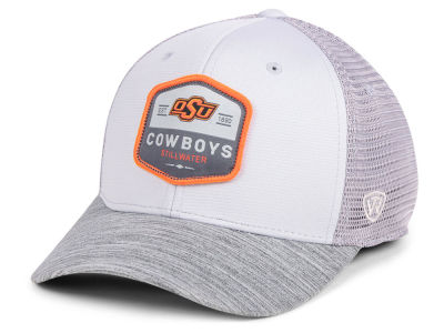 Oklahoma State Cowboys Top of the World NCAA Hyjak Mesh Flex Cap