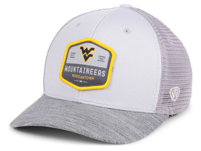 West Virginia Mountaineers Top of the World NCAA Hyjak Mesh Flex Cap 9b29e6add6c4