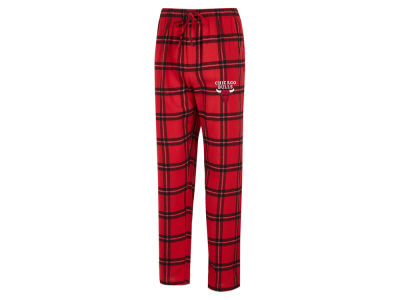Chicago Bulls Concept Sports NBA Mens Homestretch Flannel Sleep Pant