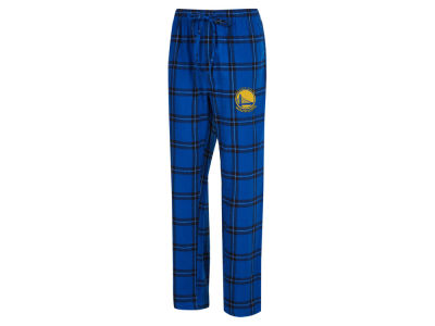 Golden State Warriors Concept Sports NBA Mens Homestretch Flannel Sleep Pant