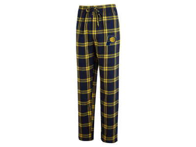 Indiana Pacers Concept Sports NBA Mens Homestretch Flannel Sleep Pant