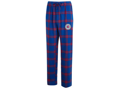Los Angeles Clippers Concept Sports NBA Mens Homestretch Flannel Sleep Pant