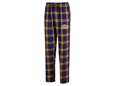 Los Angeles Lakers Concept Sports NBA Mens Homestretch Flannel Sleep Pant