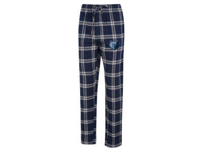 Memphis Grizzlies Concept Sports NBA Mens Homestretch Flannel Sleep Pant