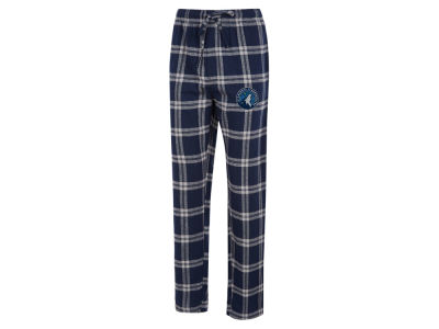 Minnesota Timberwolves Concept Sports NBA Mens Homestretch Flannel Sleep Pant