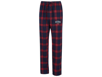 New Orleans Pelicans Concept Sports NBA Mens Homestretch Flannel Sleep Pant