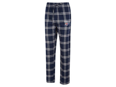 Oklahoma City Thunder Concept Sports NBA Mens Homestretch Flannel Sleep Pant