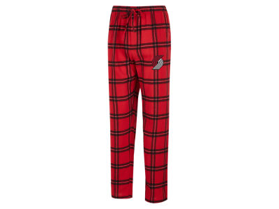 Portland Trail Blazers Concept Sports NBA Mens Homestretch Flannel Sleep Pant