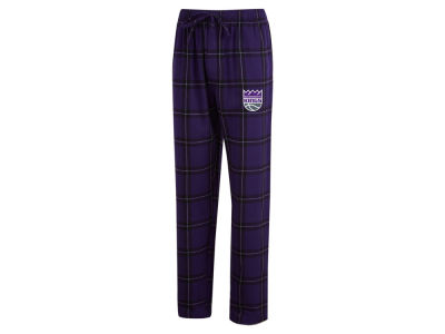 Sacramento Kings Concept Sports NBA Mens Homestretch Flannel Sleep Pant