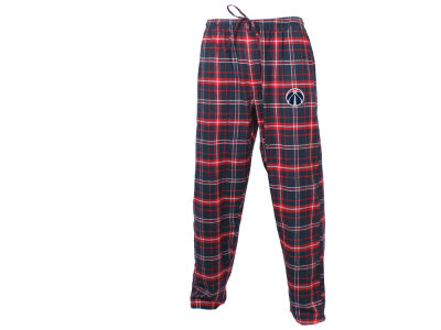 Washington Wizards Concept Sports NBA Mens Homestretch Flannel Sleep Pant
