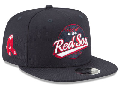 Boston Red Sox New Era MLB Vintage 9FIFTY Snapback Cap
