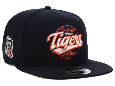 Detroit Tigers New Era MLB Vintage 9FIFTY Snapback Cap