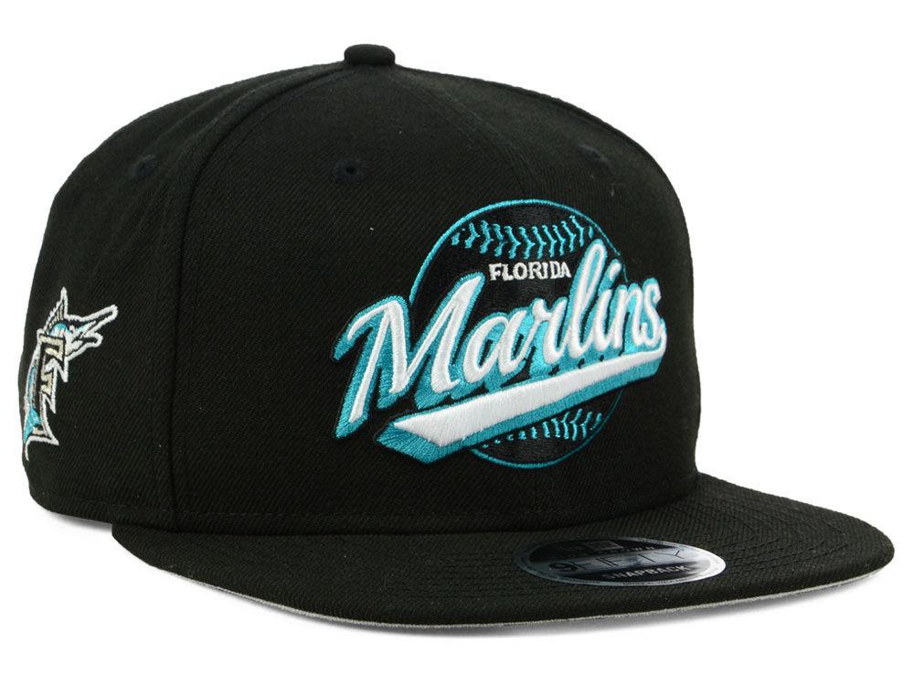 Florida Marlins New Era MLB Vintage 9FIFTY Snapback Cap  746cf23b1f9