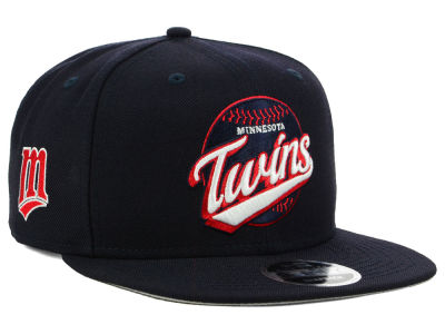Minnesota Twins New Era MLB Vintage 9FIFTY Snapback Cap