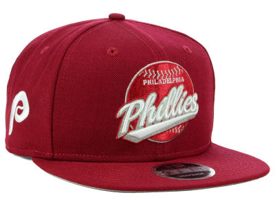 Philadelphia Phillies New Era MLB Vintage 9FIFTY Snapback Cap