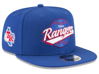 Texas Rangers New Era MLB Vintage 9FIFTY Snapback Cap