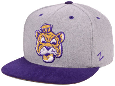 LSU Tigers Zephyr 2018 NCAA Foundation Snapback Cap