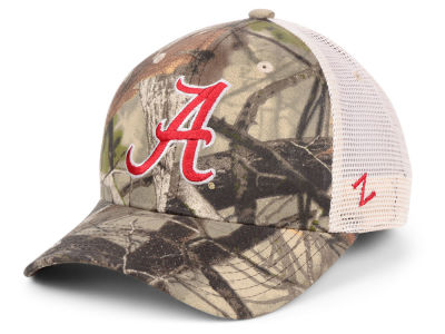 Alabama Crimson Tide Zephyr NCAA Recon Camo Trucker Cap
