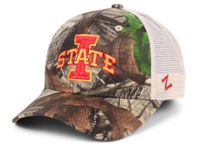 Zephyr NCAA Recon Camo Trucker Cap Hats