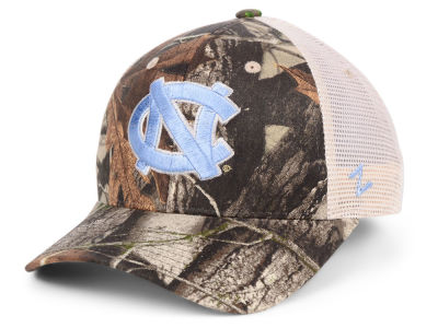 North Carolina Tar Heels Zephyr NCAA Recon Camo Trucker Cap