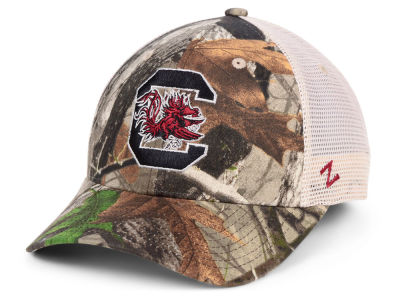South Carolina Gamecocks Zephyr NCAA Recon Camo Trucker Cap