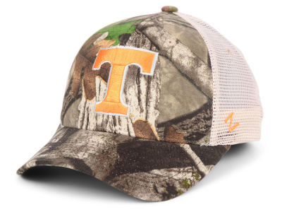 Tennessee Volunteers Zephyr NCAA Recon Camo Trucker Cap