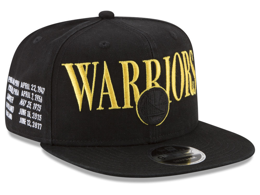 75985dda5db Golden State Warriors New Era NBA 90S Throwback Roadie 9FIFTY Snapback Cap