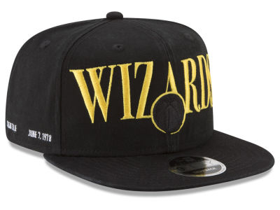 Washington Wizards New Era NBA 90S Throwback Roadie 9FIFTY Snapback Cap