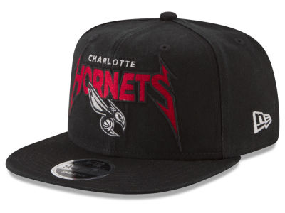 Charlotte Hornets New Era NBA 90S Throwback Groupie 9FIFTY Snapback Cap