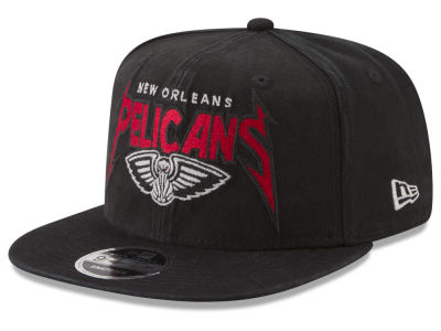 New Orleans Pelicans New Era NBA 90S Throwback Groupie 9FIFTY Snapback Cap